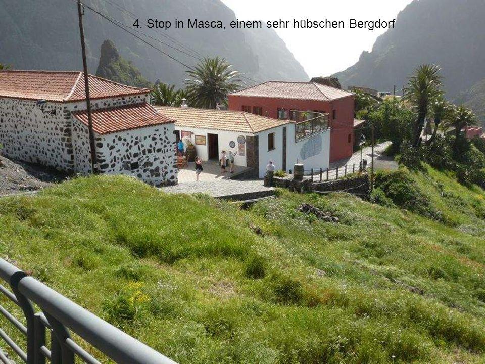 4. Stop in Masca, einem sehr hübschen Bergdorf