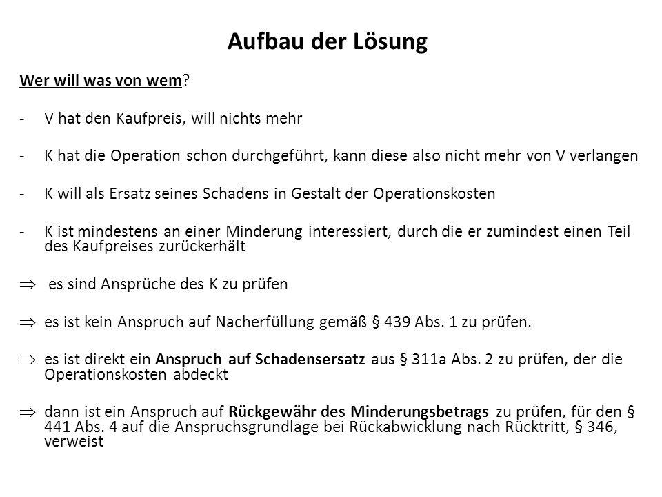 I.Anspruch auf Zahlung von 1180 aus § 311a Abs.