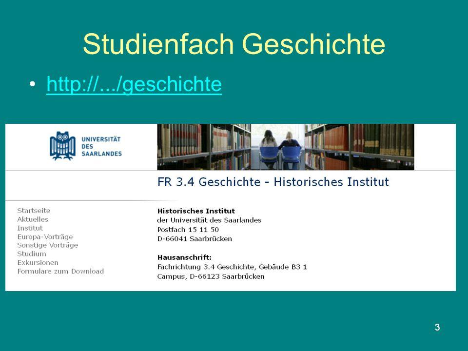 3 Studienfach Geschichte http://.../geschichte