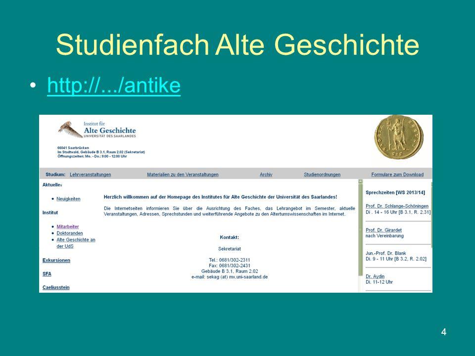 4 Studienfach Alte Geschichte http://.../antike