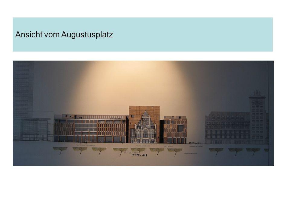 Ansicht vom Augustusplatz