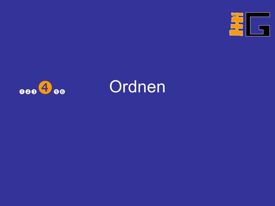 Ordnen
