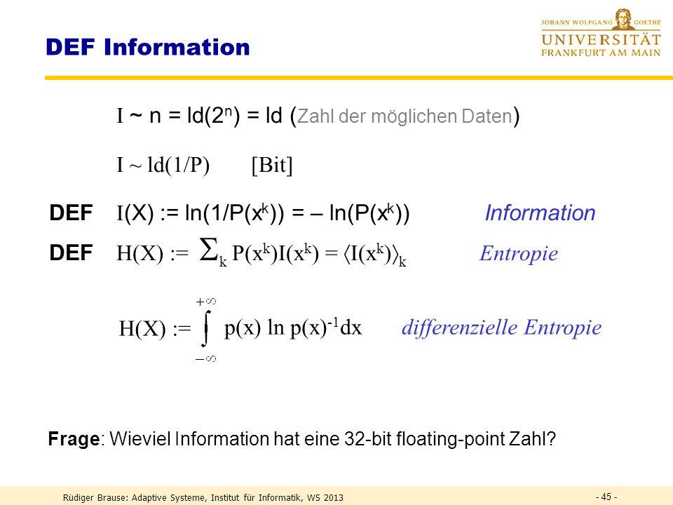 ICA Systemüberblick Independent Component Analysis (ICA) ursächl. beobachtete Variablen Einflüsse (Mischgeräusche) Interaktion der Ursachen Interaktio