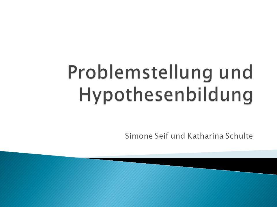 Simone Seif und Katharina Schulte