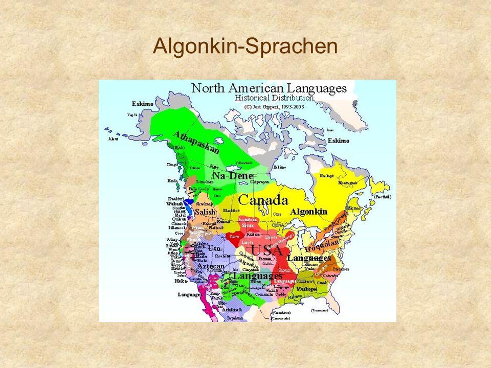 Algonkin-Sprachen