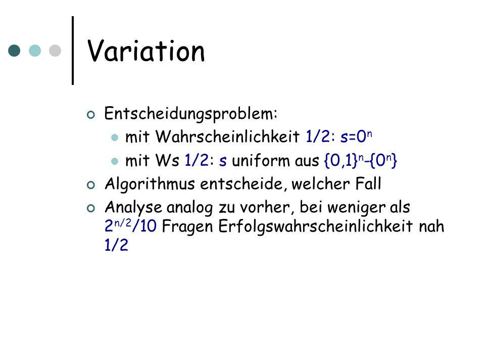 Analyse: Schritt 1 [Primzahltest] deterministisch in Zeit poly(log N) [AKS02] [Test, ob a b für nat.