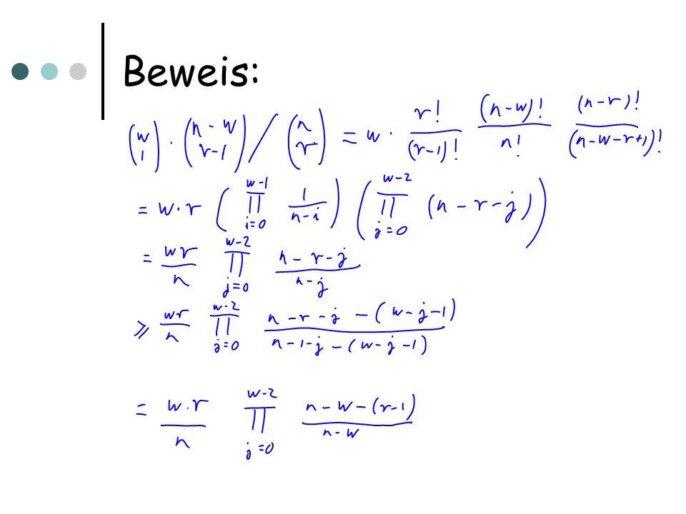 Beweis: