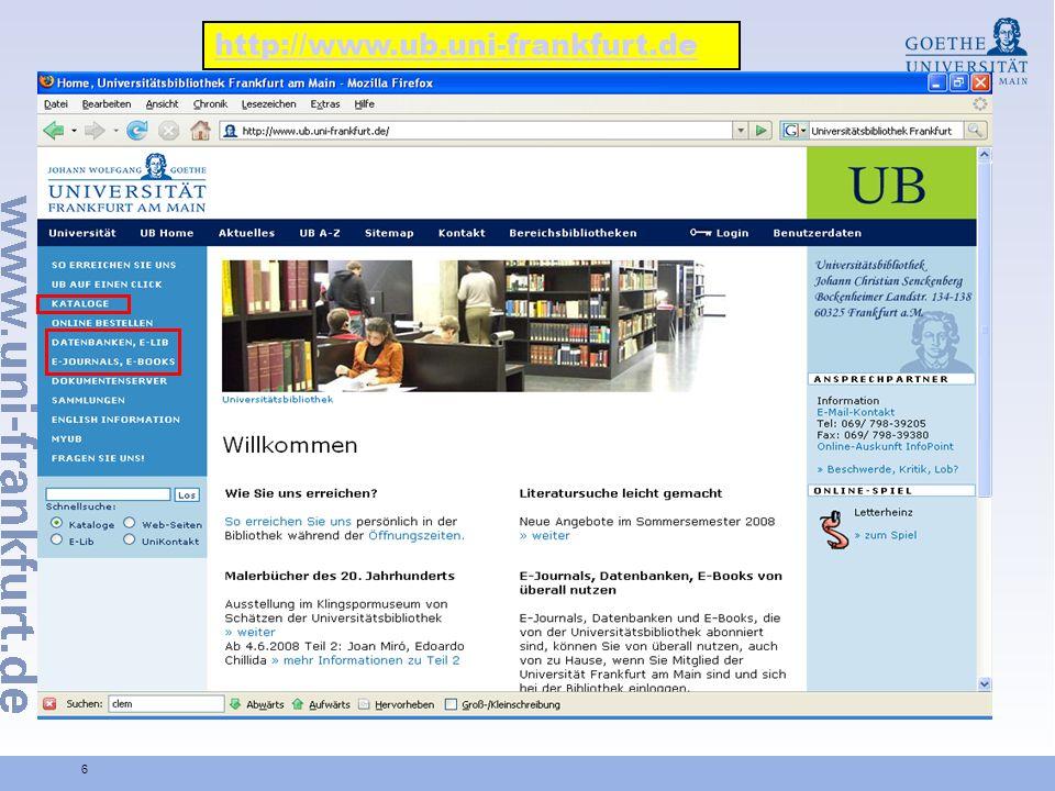 6 http://www.ub.uni-frankfurt.de