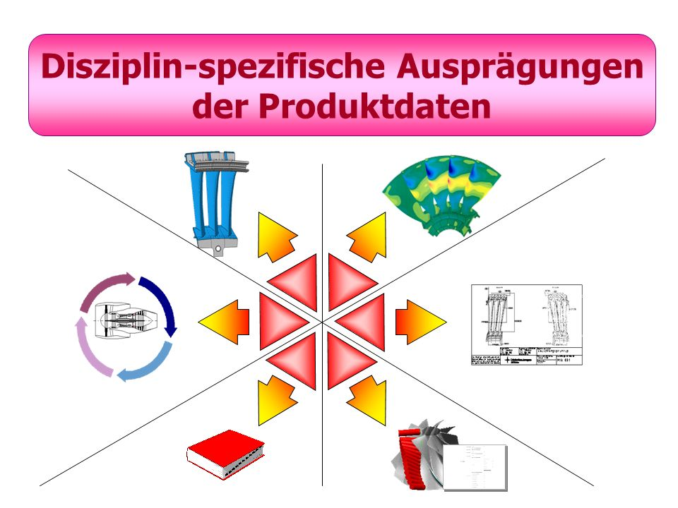 Disziplin-spezifische Ausprägungen der Produktdaten