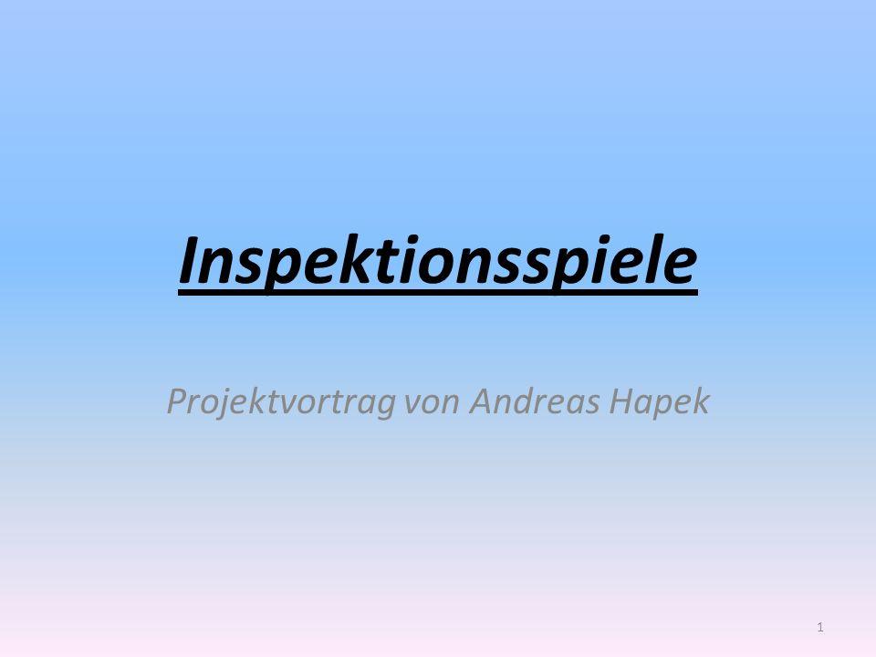 Inspektionsspiele Projektvortrag von Andreas Hapek 1
