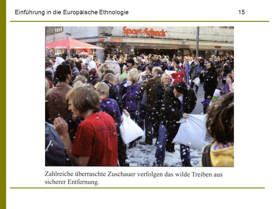 Einführung in die Europäische Ethnologie15