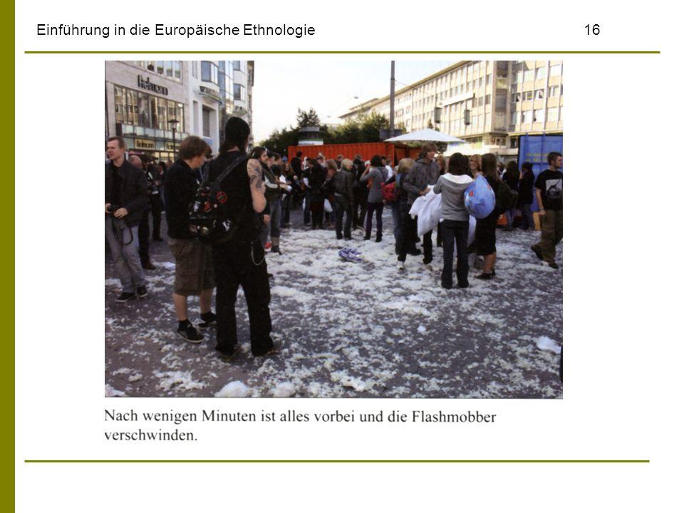 Einführung in die Europäische Ethnologie16