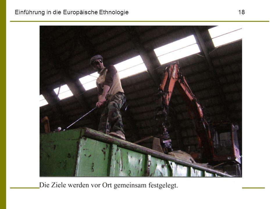 Einführung in die Europäische Ethnologie18