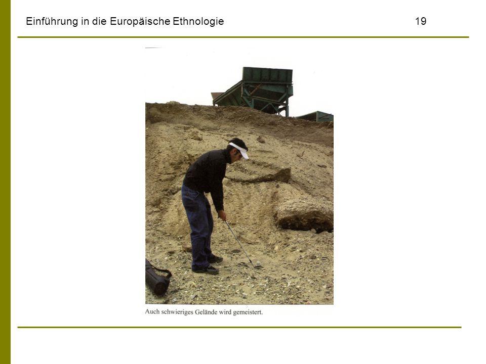 Einführung in die Europäische Ethnologie19