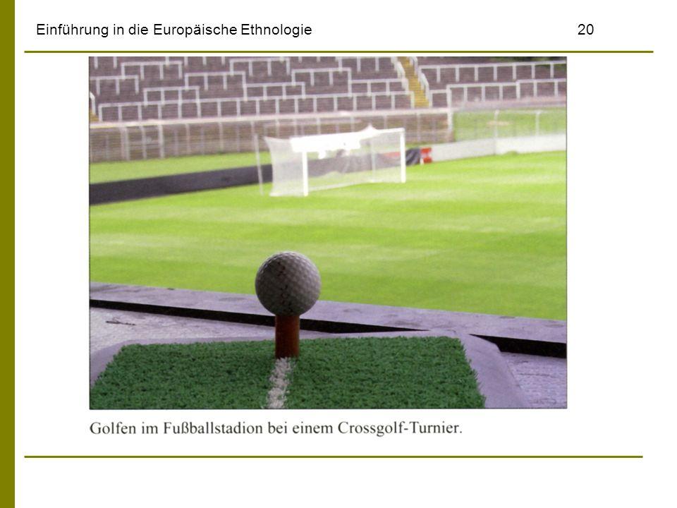 Einführung in die Europäische Ethnologie20