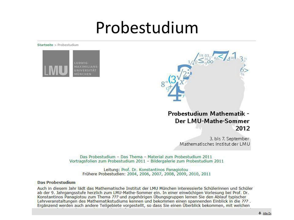 Probestudium