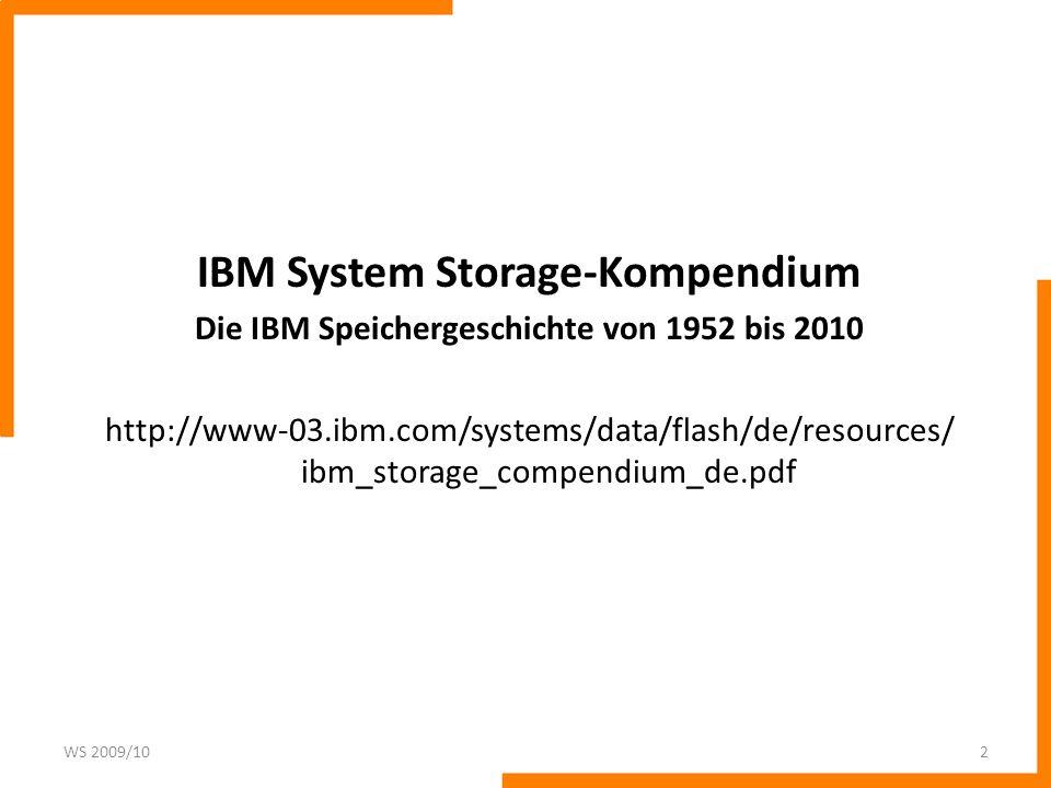 3,5: 1 TB bzw. 146 GB SSD 12, 720 m: 1,4 MB 1,3 PBIBM 726 mit 4 Bändern: 5,6 MB 19522009