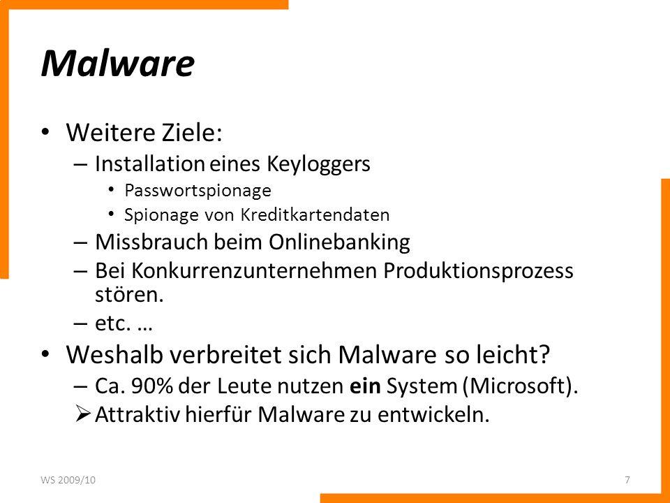 Trojanische Pferde Prinzip wie beim griechischen Mythos: Malware wird in ein kostenloses (nützliches) Programm (z.B.