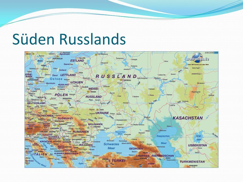 Krasnodar Region Russ.: Краснодарский край Fläche 75.485 km² Bevölkerung: 5.160.656 Einw.