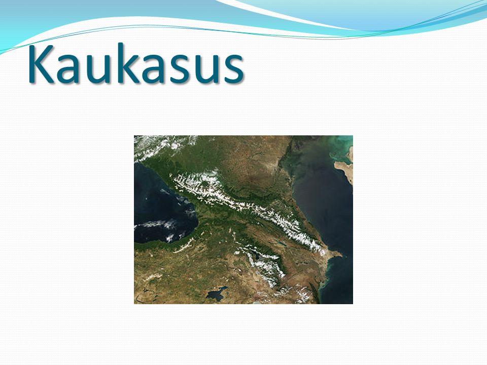 Kaukasus: Der Große und der Kleine Fläche: etwa 400000 km²