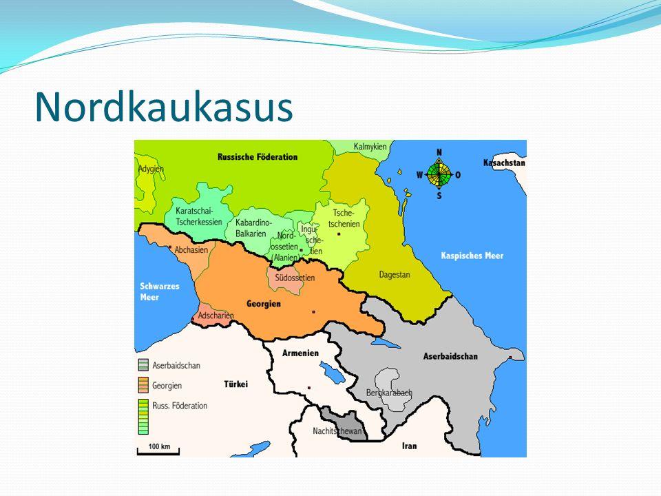 Fläche: 170.439 km² Einwohner: 9.108.737 (2009) Bevölkerungsdichte: 53,4 Einwohner je km² Verwaltungssitz: Pjatigorsk Generalgouverneur: Alexander Chloponin Gliederung: 1.Republik Dagestan, 3.