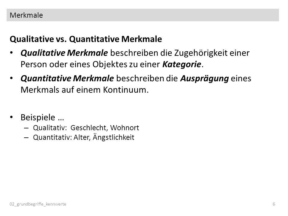 Vergleich der Maße der Zentralen Tendenz 02_grundbegriffe_kennwerte67 frequencies age, freiburg /format notable /statistics modus median mean.