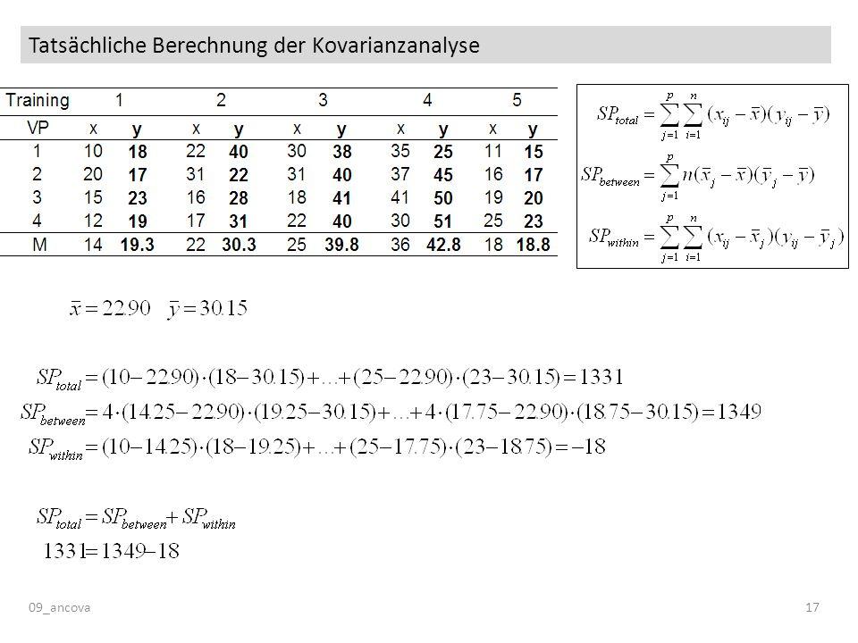 Tatsächliche Berechnung der Kovarianzanalyse 09_ancova17