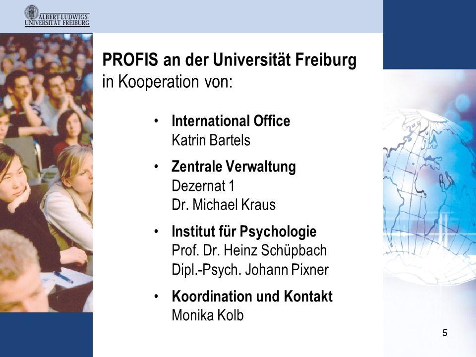 6 Projekt - Schwerpunkte zu Aktionslinie 1 Weiterentwicklung des lebenslagenorientierten Studierendenportals für internationale Studieninteressierte realistische Vorschau auf Lebens- und Studienbedingungen in Freiburg geben bessere Kongruenz der Erwartungen internationaler Studierender mit realen Gegebenheiten erzielen Selbstselektions- und Integrationsprozesse fördern