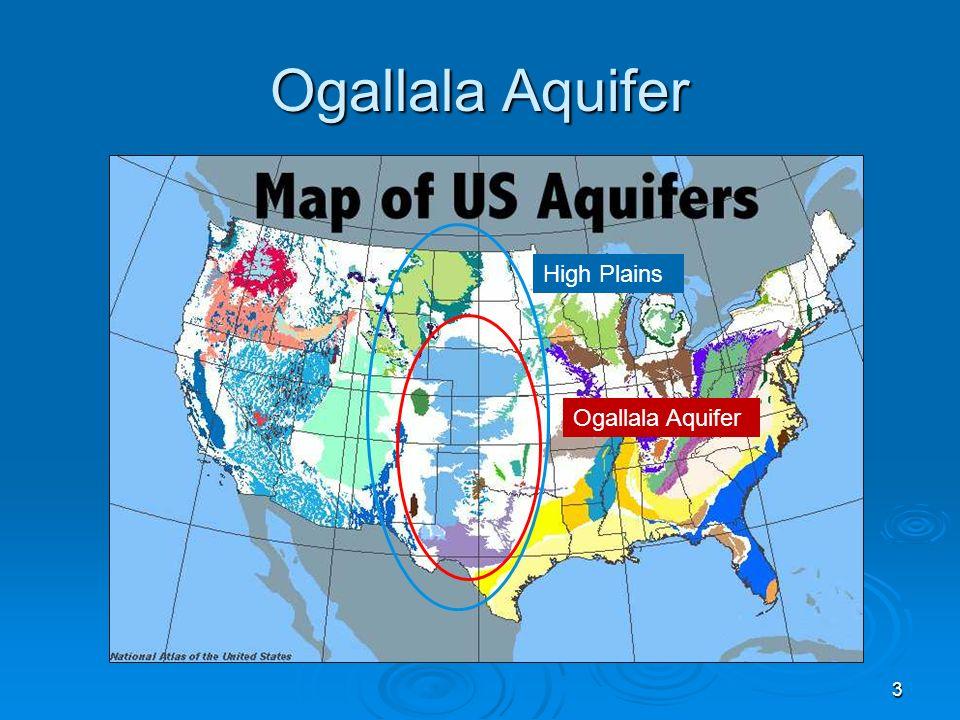 Ogallala Aquifer 3 High Plains Ogallala Aquifer