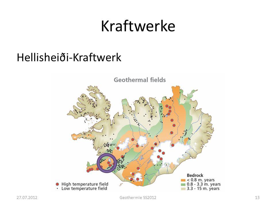 Kraftwerke Hellisheiði-Kraftwerk 1327.07.2012Geothermie SS2012