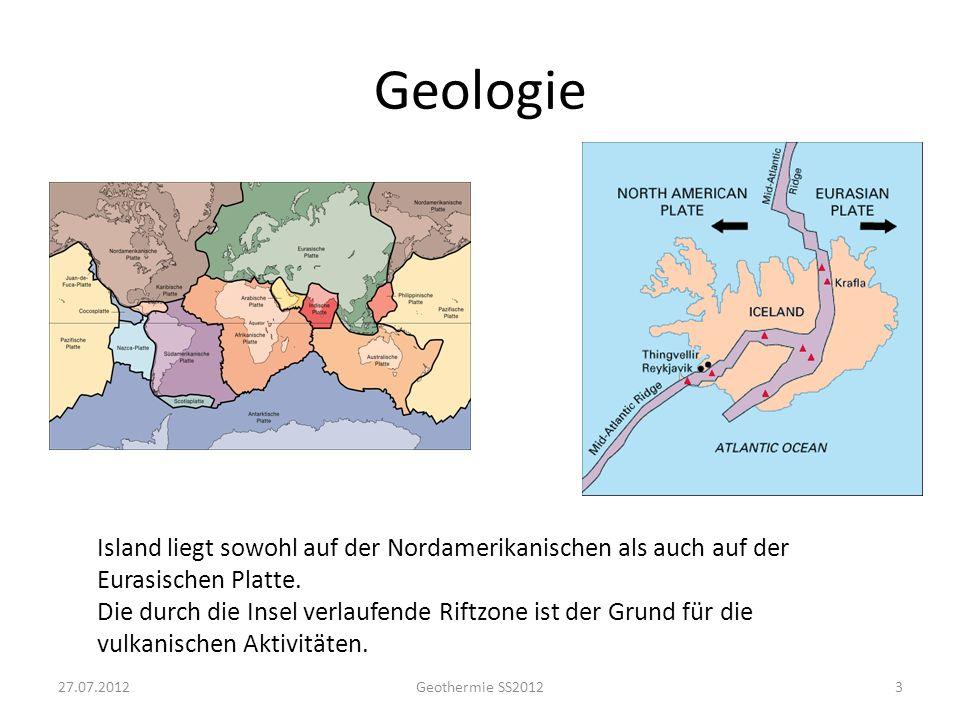 Geologie Island liegt sowohl auf der Nordamerikanischen als auch auf der Eurasischen Platte. Die durch die Insel verlaufende Riftzone ist der Grund fü