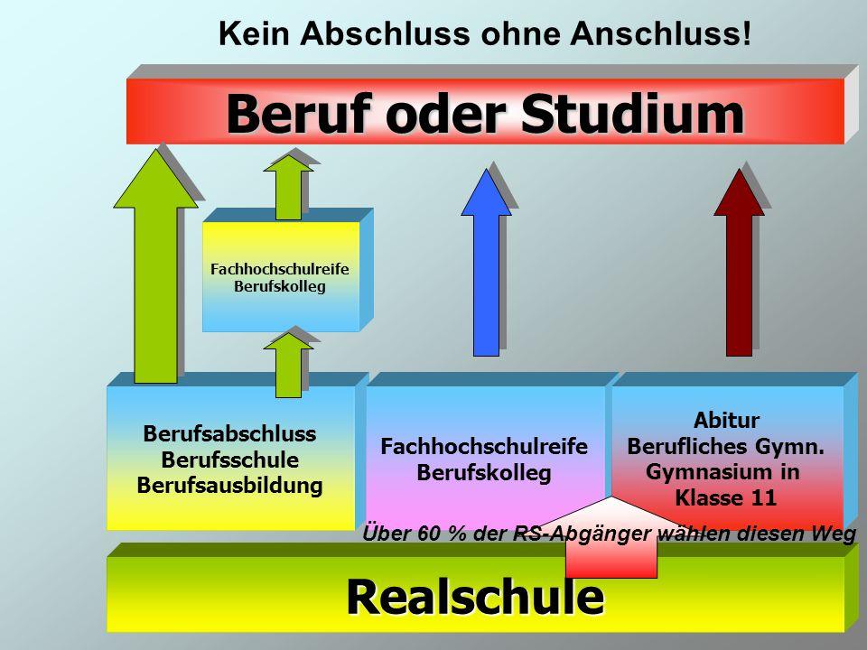 1-2010 /Heil11 Kein Abschluss ohne Anschluss!Realschule Berufsabschluss Berufsschule Berufsausbildung Fachhochschulreife Berufskolleg Abitur Beruflich