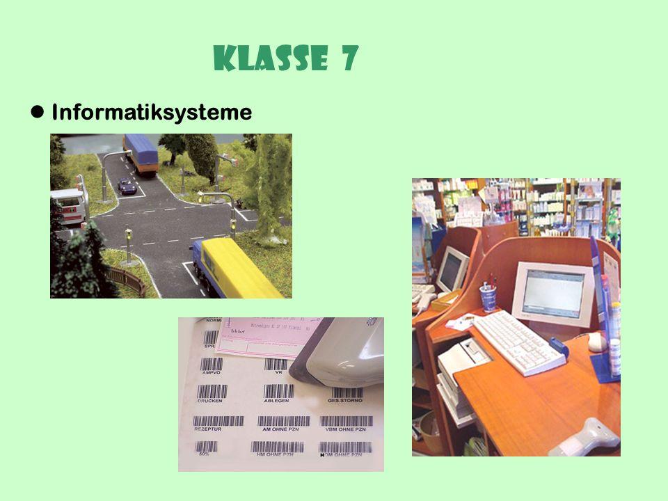 Klasse 7 Betriebssysteme