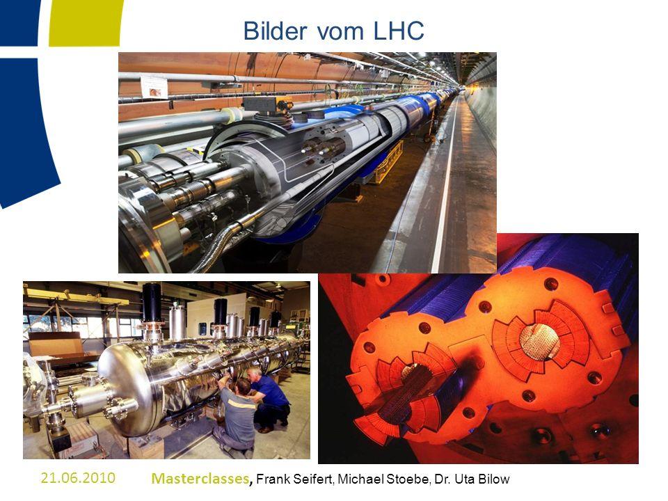 Bilder vom LHC 21.06.2010Masterclasses, Frank Seifert, Michael Stoebe, Dr. Uta Bilow