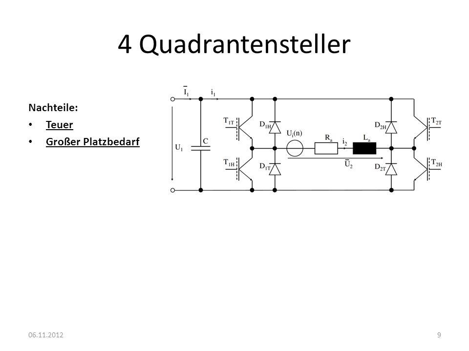 Umpoler Vorteile: Billig Einfach 2 Quadrantenbetrieb 06.11.201210