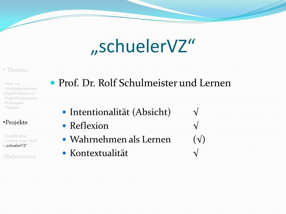 schuelerVZ Prof.Dr.