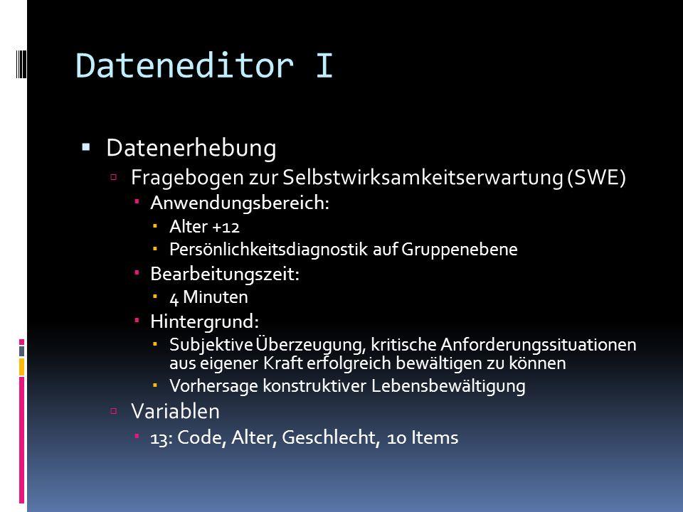 PASW benutzen Von zu Hause Start > Alle Programme > Zubehör > Remotedesktopverbindung Server: ts.zdv.uni-mainz.de Persönliches ZdV-Login verwenden Auf dem Uni-Recher/-Server Start > Alle Programme > PASW Statistics 18.0 v