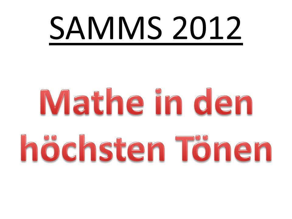SAMMS 2012