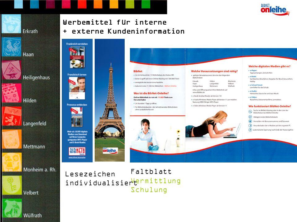 Postkarten Werbemittel für externe Kundeninformation Wie man sich ein schönes Zuhause schafft.