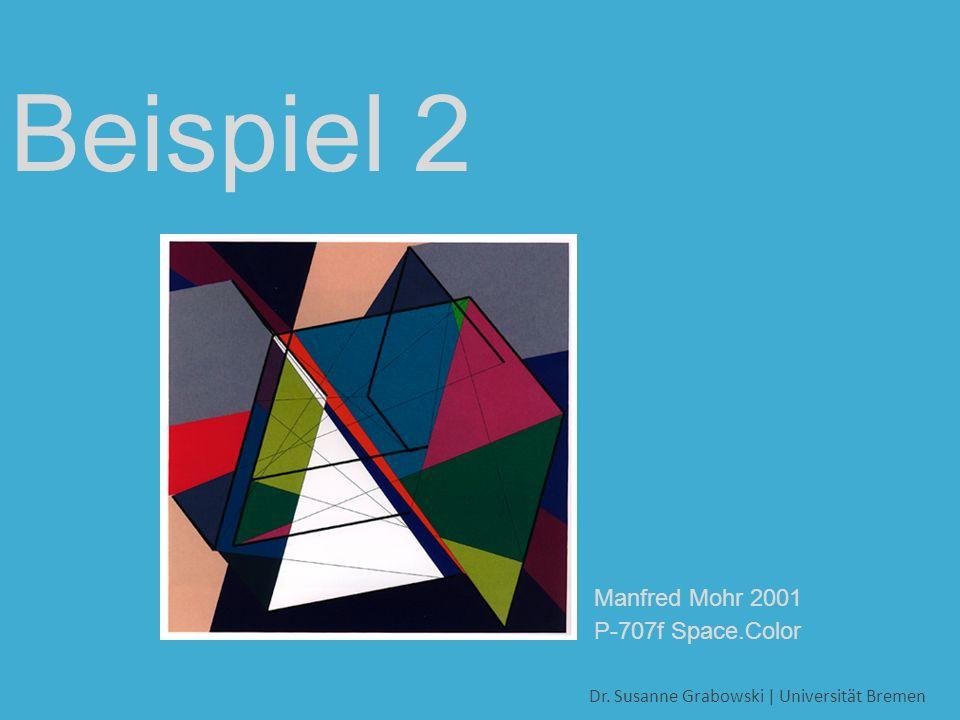 Dr. Susanne Grabowski | Universität Bremen Beispiel 2 Diagonalwege 6D-Hypercube