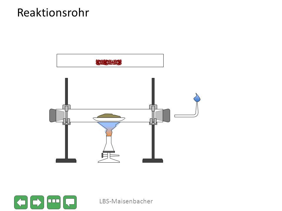 Reaktionsrohr LBS-Maisenbacher