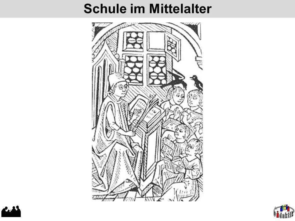 Schule im Mittelalter