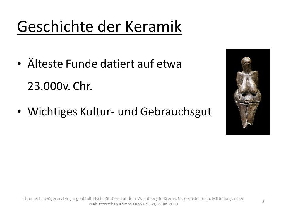 Definition: Keramik: Festkörper, der als wichtigste Komponente und zum größten Teil anorganische nichtmetallische Materialien enthält.