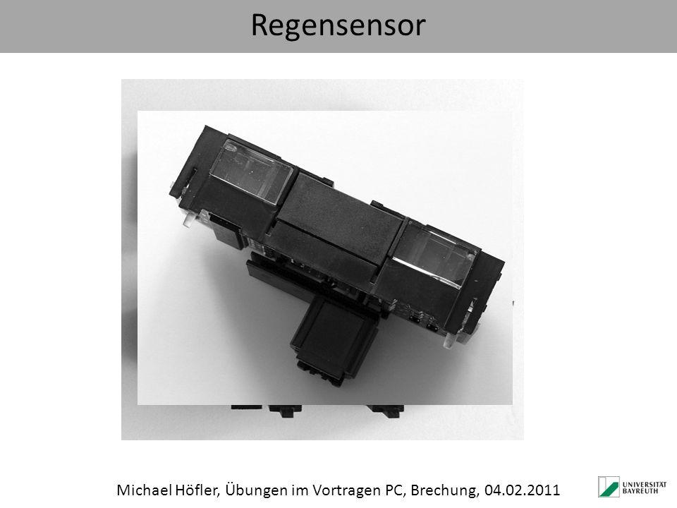 Regensensor Michael Höfler, Übungen im Vortragen PC, Brechung, 04.02.2011