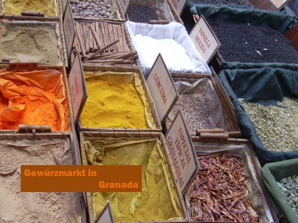 Gewürzmarkt in Granada