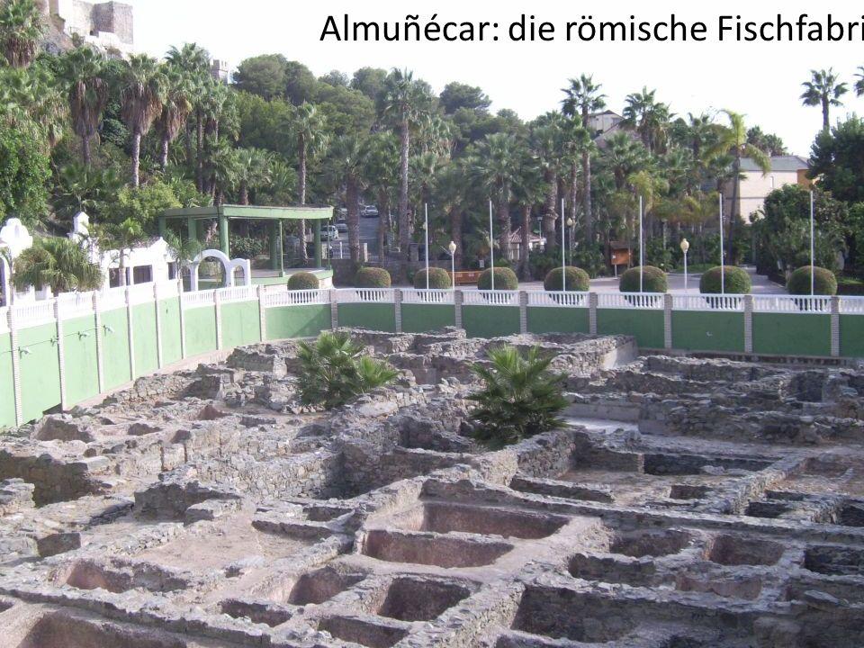 Almuñécar: die römische Fischfabrik