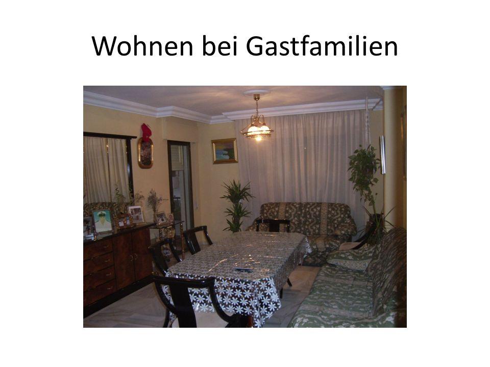 Wohnen bei Gastfamilien
