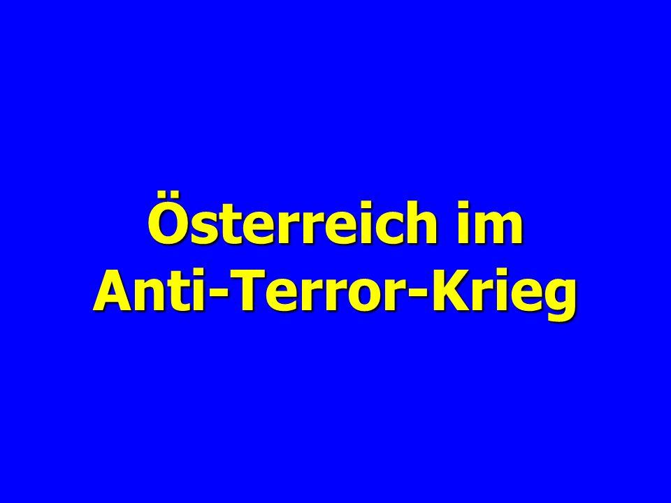 Etwas Neues über Afghanistan: Es ist soweit, Österreich stellt sich an die Seite Amerikas und stellt seine neuesten Anti- Terror-Einheiten zur Verfügung.
