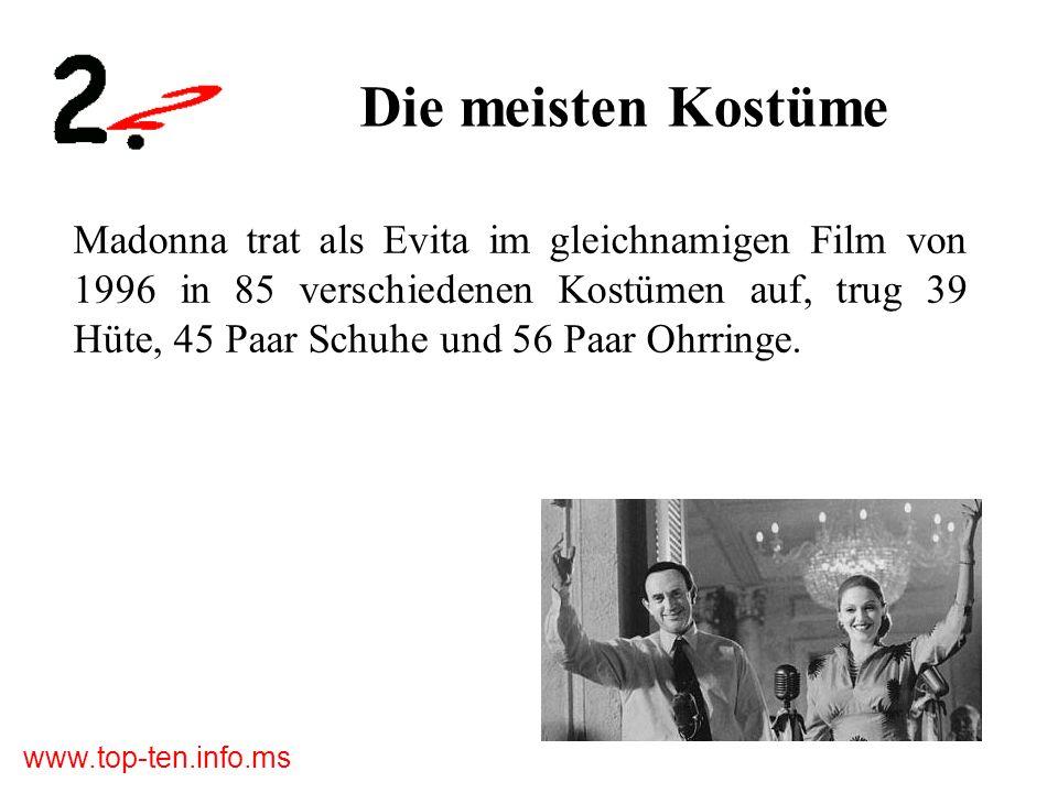 www.top-ten.info.ms Die größte Kulisse Am Set zum Film