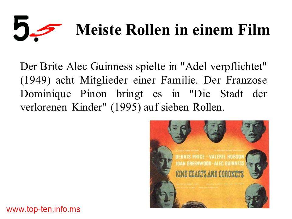 www.top-ten.info.ms Die meisten Tiere Im Klassiker